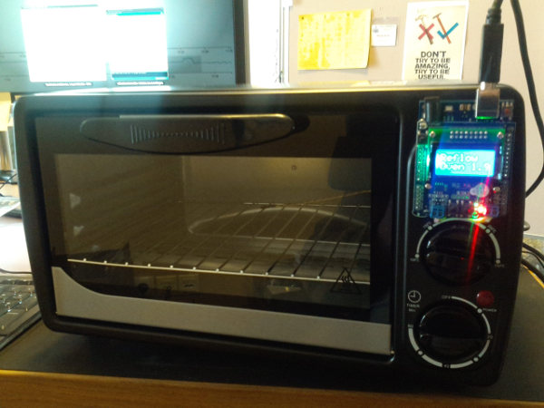 reflow oven assembled